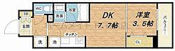 Larcieparc新大阪[3階]の間取り