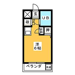 メゾン・ド・エティーク[3階]の間取り