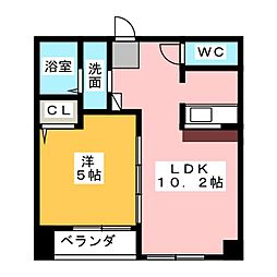 K・ドミール[2階]の間取り