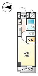 メゾンノバ[2階]の間取り