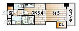 THE SQUARE Platinum Residence[12階]の間取り