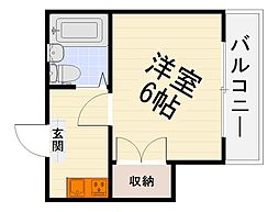 エルム泉大津パートI[3階]の間取り