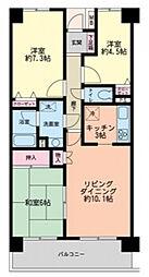 習志野台野村ハイツ[2階]の間取り