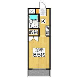 メゾンフクイ[305号室]の間取り