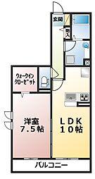 (仮)D-room飯山満町A[305号室]の間取り