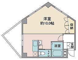 新井ビル[3階]の間取り