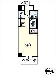 サン・名駅太閤ビル[4階]の間取り