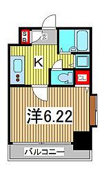 アクシーズタワー川口幸町II[4階]の間取り
