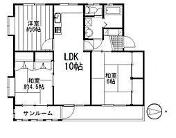 マンションふじ[305号室号室]の間取り