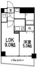 セントポーリアグランデュール[12階]の間取り
