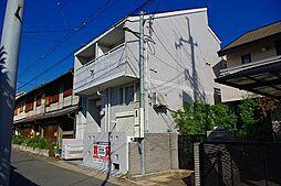 奈良県奈良市東包永町の賃貸アパートの外観