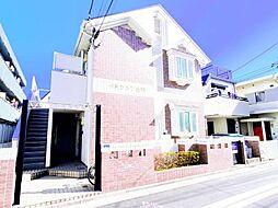 東京都葛飾区金町1の賃貸アパートの外観