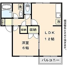 宮城野原駅 徒歩13分1階Fの間取り画像
