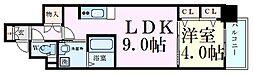 Osaka Metro谷町線 天神橋筋六丁目駅 徒歩10分の賃貸マンション 3階1LDKの間取り