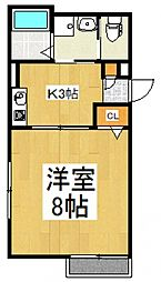 セレステ志木B号棟[1階]の間取り