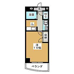 シーフィールド東静岡[5階]の間取り