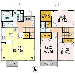 [一戸建] 鳥取県米子市皆生新田1丁目 の賃貸【/】の間取り