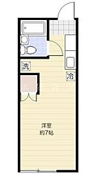 メゾン・ド・ネージュ戸塚[2階]の間取り