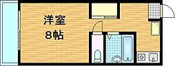 滋賀県草津市追分の賃貸マンションの間取り