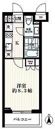 岩崎偉丈夫庵[3階]の間取り