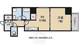 BGC難波タワー[1203号室]の間取り