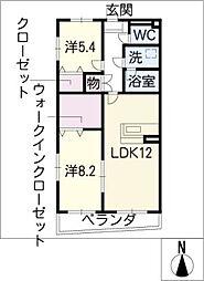 Residence Masa[1階]の間取り