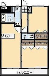 (新築)大塚町竹下マンション[206号室]の間取り