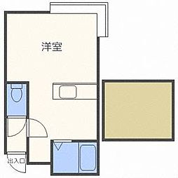 MHパレスN26[2階]の間取り