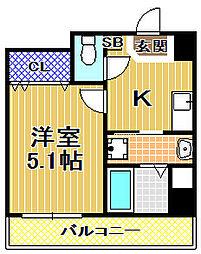 梅香新築マンション[7階]の間取り