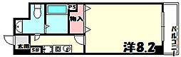 カリエンテ三宮[3階]の間取り