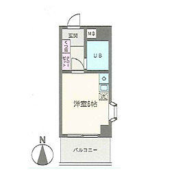第2サンコート東戸塚[311号室]の間取り