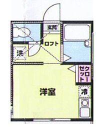 LOFTIA井土ヶ谷下町七番館[2階]の間取り
