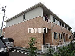 静岡県富士宮市朝日町の賃貸アパートの外観
