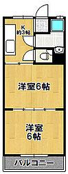 二条通住宅[4階]の間取り