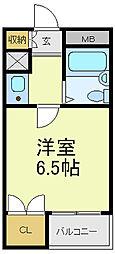 フィリスコート[3階]の間取り