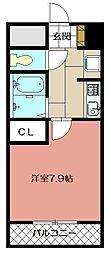 ライオンズマンション皇后崎公園 704[704号室]の間取り