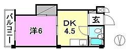 第2ミサワハウス[102 号室号室]の間取り