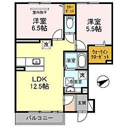 D−room 栄谷[103号室]の間取り