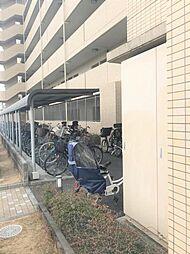 駐輪場は月額100円からご利用いただけます。
