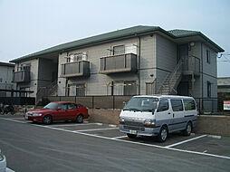 ソレイユ三苫[2階]の外観
