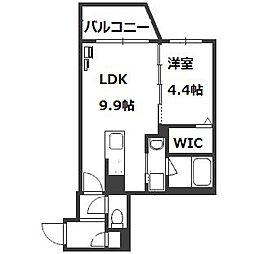 HGS South11[4階]の間取り