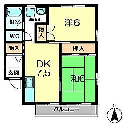 京都府木津川市相楽台9丁目の賃貸アパートの外観