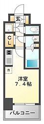 コンフォリア江坂広芝町[6階]の間取り