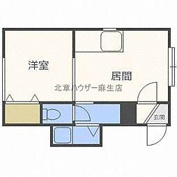 パールハウス[2階]の間取り