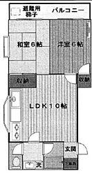 トーマズガーデン[2階]の間取り