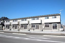 栃木県鹿沼市花岡町の賃貸アパートの外観