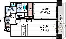 ミヤレジデンスセブン[202号室]の間取り