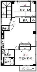 シェアスタイル姫路元町[3-A号室]の間取り