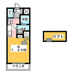 CIビル[4階]の間取り