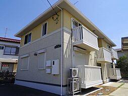 茨城県龍ケ崎市佐貫町の賃貸アパートの外観